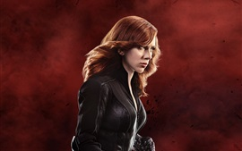 Preview wallpaper Black Widow, Scarlett Johansson in Captain America 3