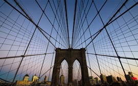 Preview wallpaper Brooklyn Bridge in New York, USA