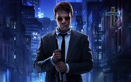 Preview wallpaper Charlie Cox, Daredevil TV series