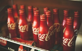 Preview wallpaper Coca Cola drinks, bottles