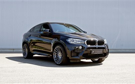 Preview wallpaper Hamann BMW X6 M SUV car