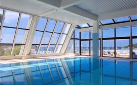 piscina interna, o Hotel