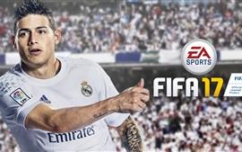 미리보기 배경 화면 제임스 로드리게스, FIFA 17