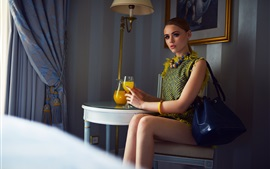 Preview wallpaper Kristina Bazan 10