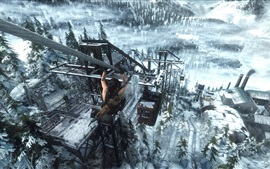 Rise of the Tomb Raider, juego captura de pantalla