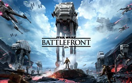 Preview wallpaper Star Wars Battlefront, EA games