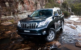 Preview wallpaper Toyota Prado SUV car