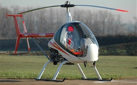 Preview wallpaper Ultralight Helicopter