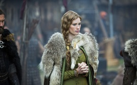Preview wallpaper Alyssa Sutherland, The Vikings