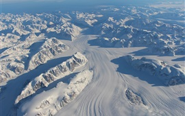 Preview wallpaper Greenland thick snow