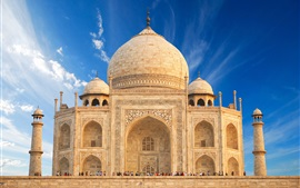 Preview wallpaper India travel place, Taj Mahal