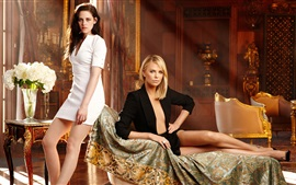 Preview wallpaper Kristen Stewart and Charlize Theron