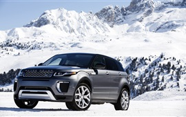 Preview wallpaper Land Rover Range Rover in snow winter