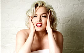 Preview wallpaper Marilyn Monroe 01
