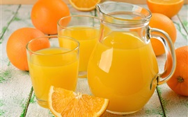 Orange juice, fruit drinks