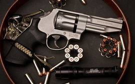 Preview wallpaper Revolver, Smith Wesson, weapon