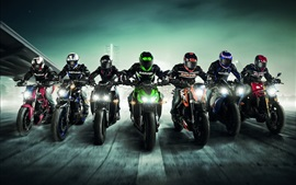 Preview wallpaper Sports, motorcycle race