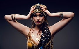 Preview wallpaper Arab dress sexy girl