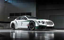 Preview wallpaper Bentley Continental GT3 race car