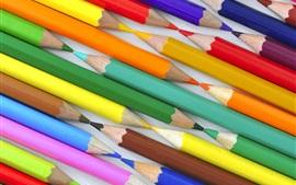미리보기 배경 화면 다채로운 연필