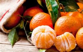 Fotografía de frutas, cítricos, mandarinas