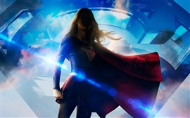 Preview wallpaper Melissa Benoist, Supergirl, DC Comics