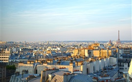 Preview wallpaper Paris, city, morning, sunshine, France