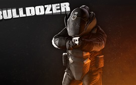 Preview wallpaper Payday 2, Bulldozer