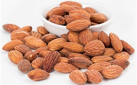 Preview wallpaper Roasted almonds
