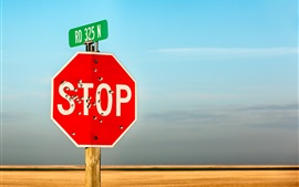 Preview wallpaper Stop sign