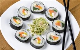 Vorschau des Hintergrundbilder Sushi, japanisches Essen