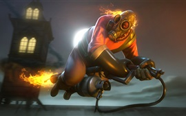 Preview wallpaper Team Fortress 2, flamethrower