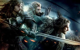 Preview wallpaper The Hobbit: An Unexpected Journey, magical movie