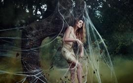 Белла Котак фотографии, девушка в ловушке