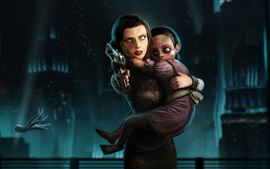 Preview wallpaper BioShock Infinite, Elizabeth and little sisters