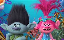 Aperçu fond d'écran Film de DreamWorks, Trolls
