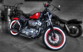 Preview wallpaper Harley Davidson F95 custom motorcycle