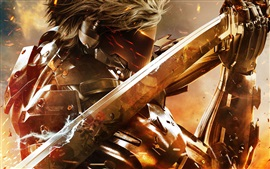Preview wallpaper Metal Gear Rising: Revengeance, mask, sword