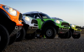 Preview wallpaper Mini Cooper cars, Dakar Rally