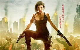 Preview wallpaper Resident Evil: The Final Chapter, Milla Jovovich