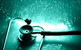 Preview wallpaper Stethoscope, medicine tool