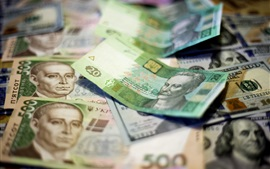 Preview wallpaper Ukraine, currency, money
