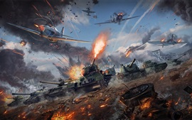 Preview wallpaper War Thunder, tanks