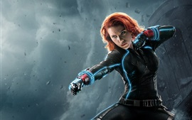 Preview wallpaper Avengers 2, black widow, Natasha, Scarlett Johansson