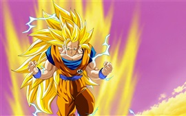 Preview wallpaper Dragon Ball, Goku, Japanese anime