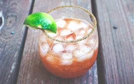 Aperçu fond d'écran Michelada Cocktail, boissons