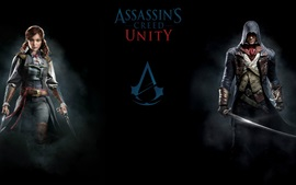 Preview wallpaper PC games, Assassin's Creed: Unity