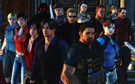 Preview wallpaper Resident Evil 6, game characters