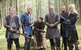 Preview wallpaper The Vikings, TV series HD