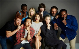 The Walking Dead, série de TV quente, personagens